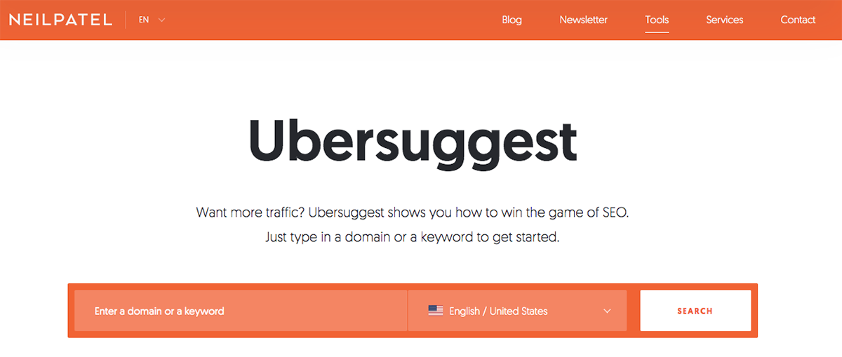 Ubersuggest blogging resources