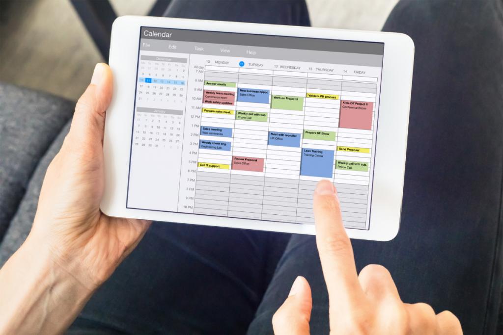 Calendar planning productivity tips Red Platypus